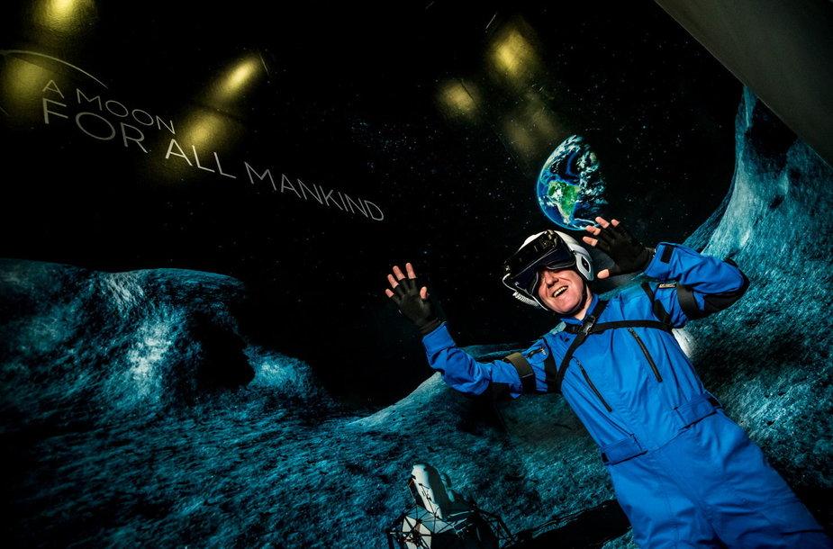 Išmaniosios technologijos olimpiadoje: pasivaikščiojimas Mėnulyje ir virtualios trasos