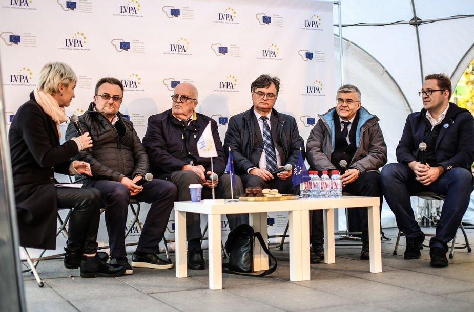 LVPA diskusija