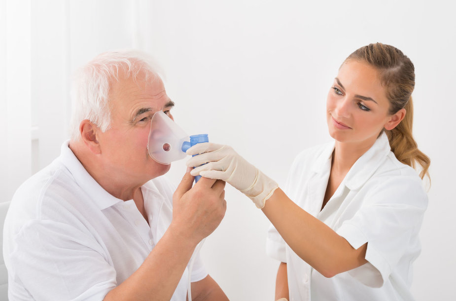 Lėtinė obstrukcinė plaučių liga (LOPL)