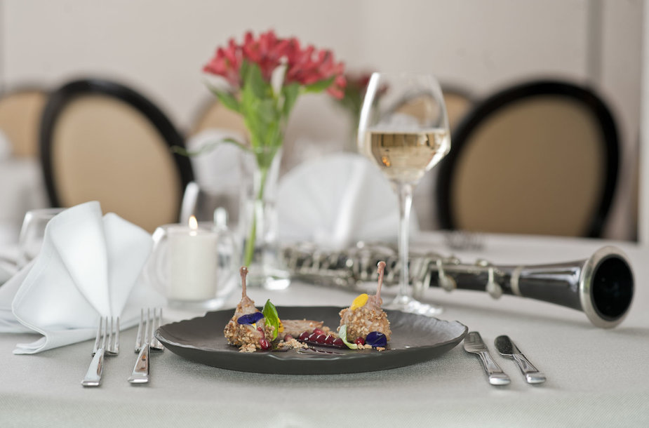 """Restorano """"Rojalis"""" degustacinė vakarienė"""