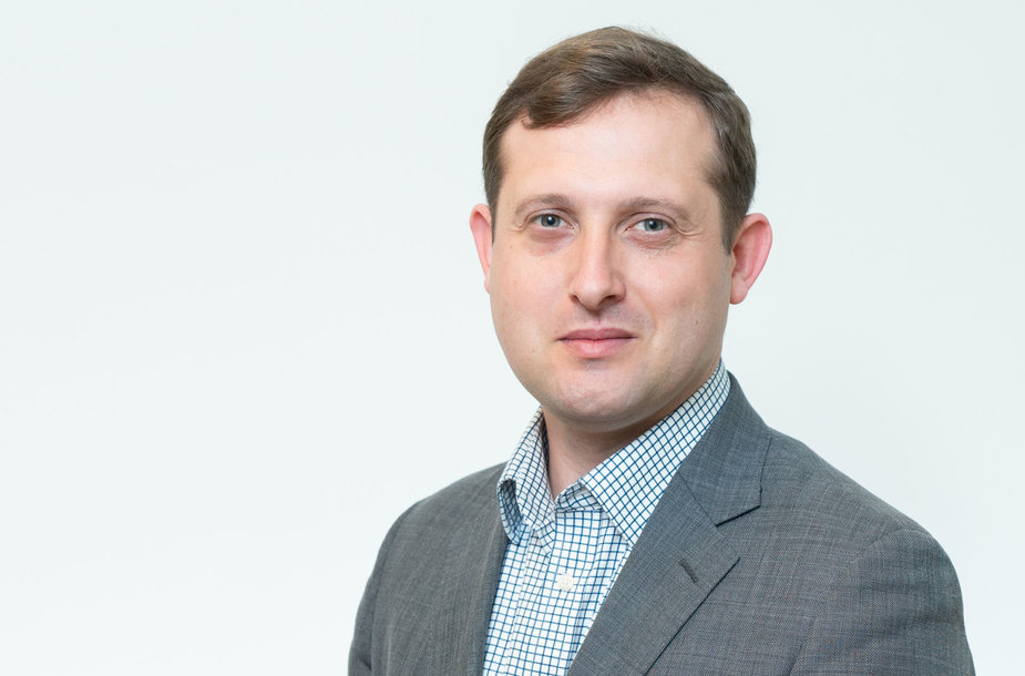 Karybos ekspertas Deividas Šlekys