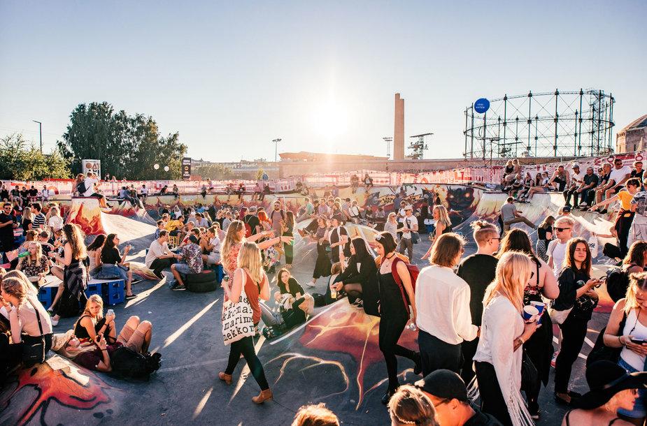 """""""FLOW Festival"""" Helsinkyje praėjusių metų akimirkos"""