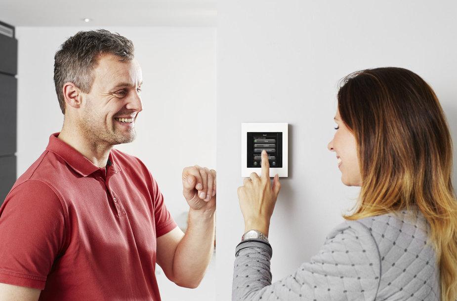 """Gyventojai naudojasi išmaniąja šildymo sistema """"Danfoss Link"""""""