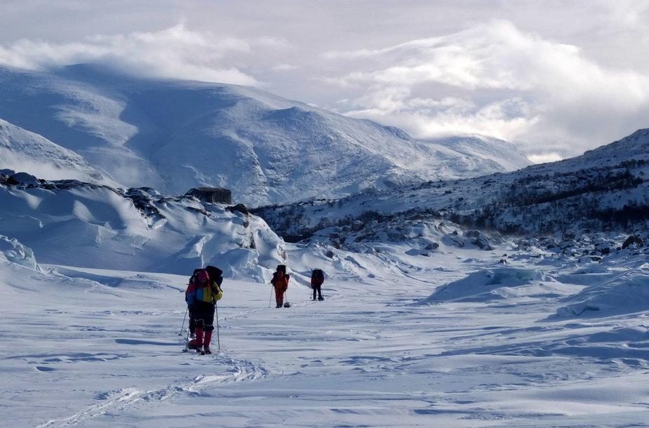 Kelionė po Sareko  (Švedija) nacionalinį parką