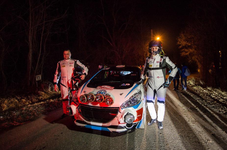 """Arctic Energy World Rally team"" komandos lenktynininkai"