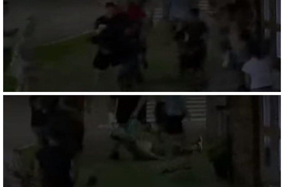 Smurto protrūkis Alytuje