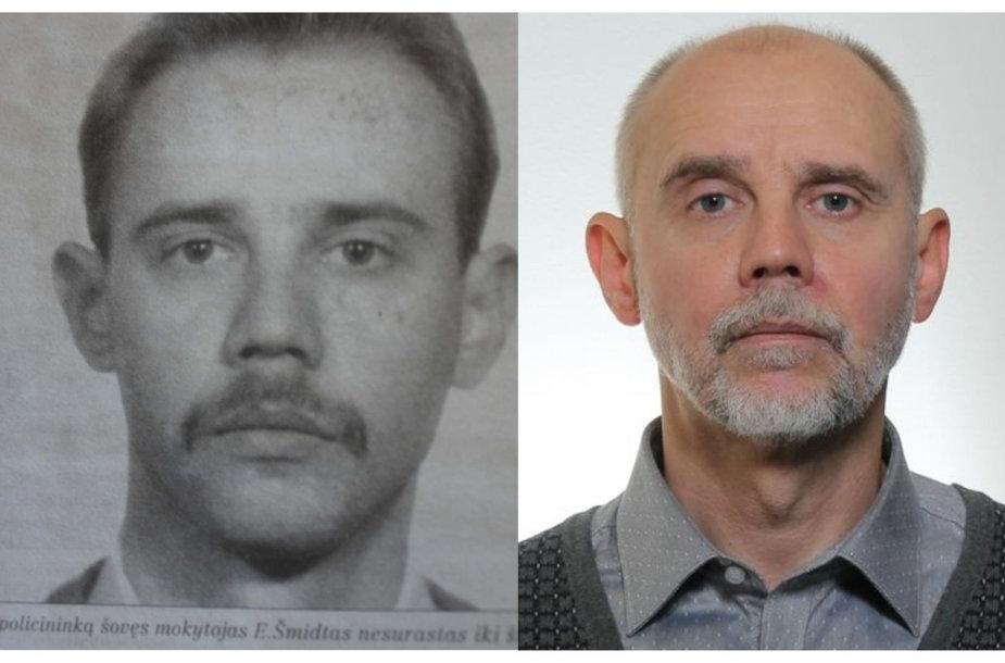 Eligijus Šmidtas tada ir dabar