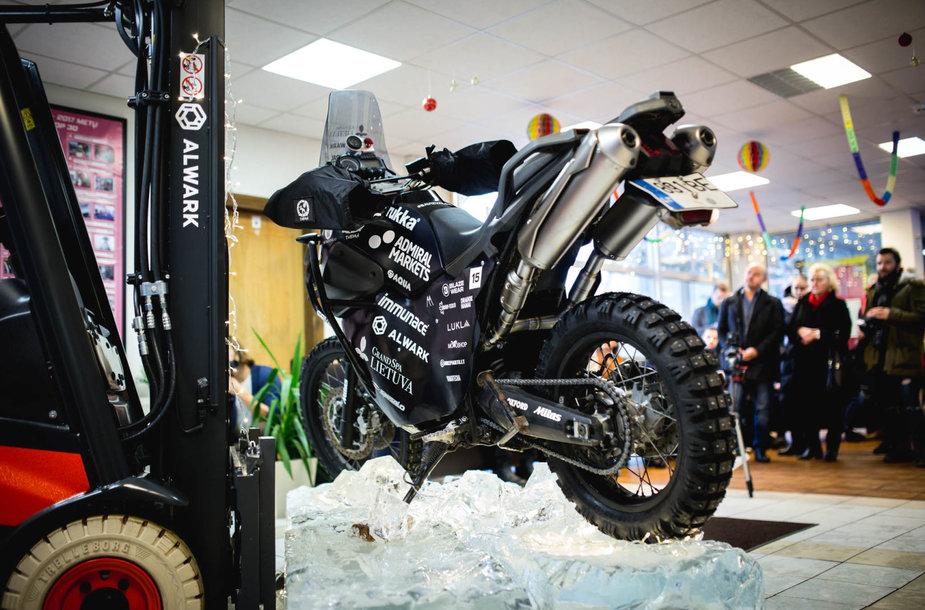 Karolio Mieliausko motociklas