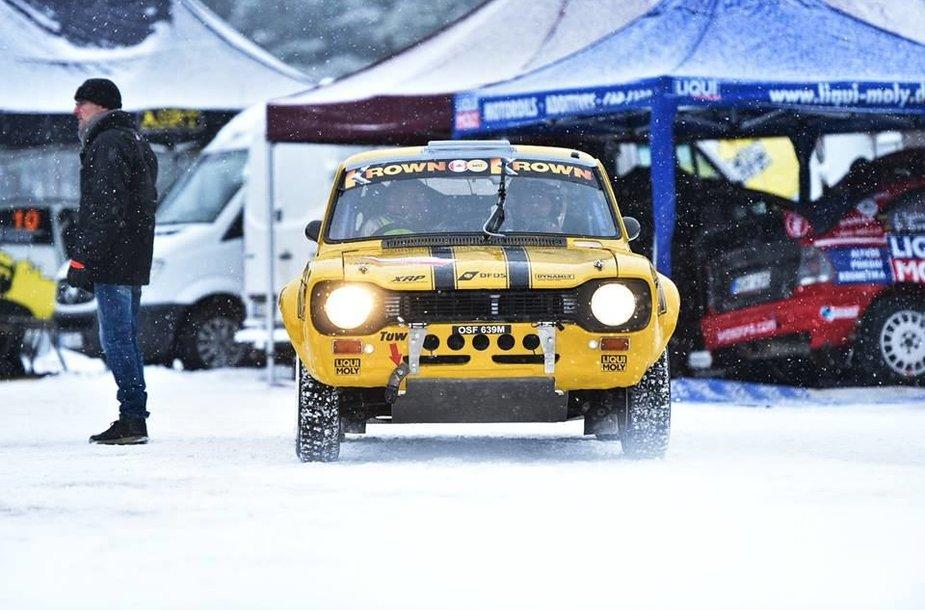 "Drew Hollandas ""Winter Rally"" 2018"