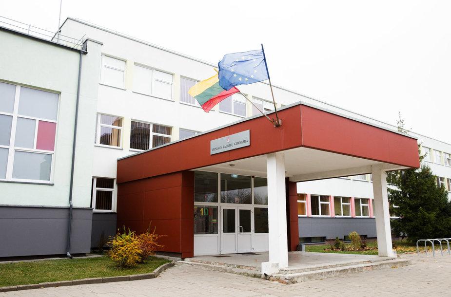 Vilniaus Radvilų gimnazijoje nevyksta pamokos