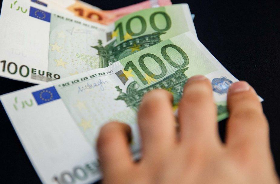 Grynieji eurai