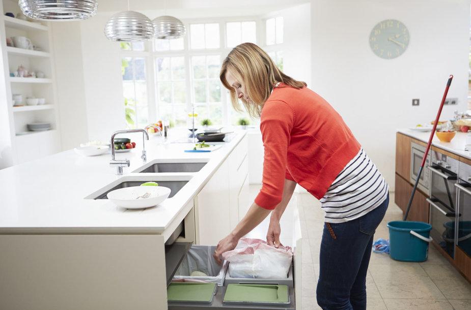 Funkcionalios erdvės virtuvėje