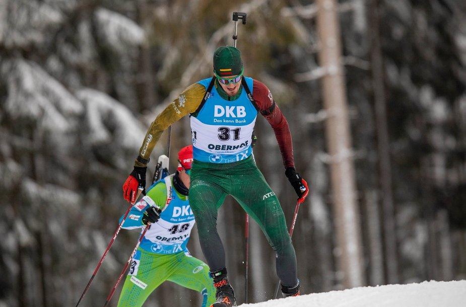 Vytautas Strolia Europos čempionate – devintas