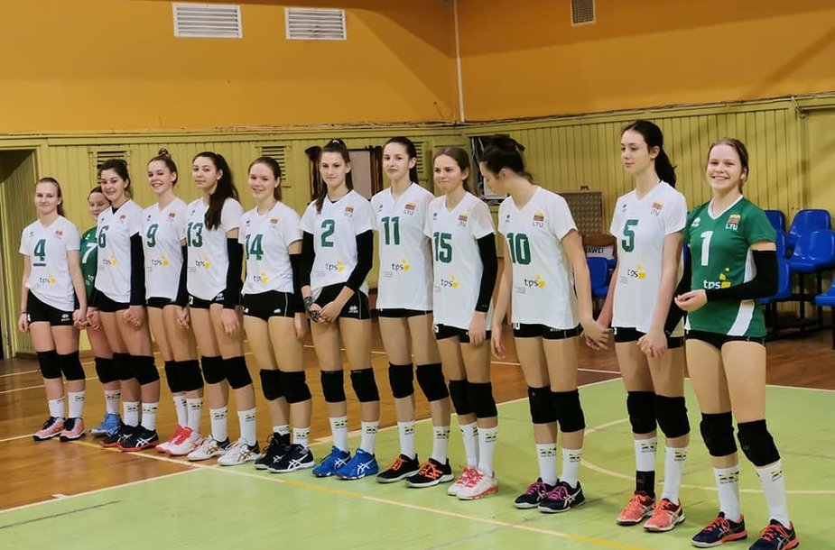 Lietuvos jaunių (iki 16 metų) merginų tinklinio rinktinė