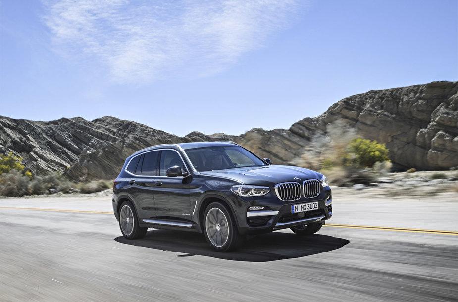 BMW X3/gamintojo nuotr.
