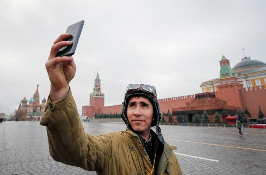 Rusijos karys darosi asmenukę