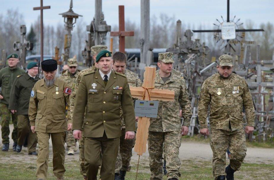 UKR kryžius kalne