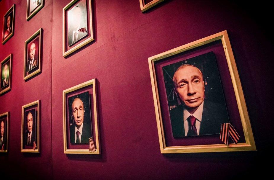 "Spektalio ""Amžinoji Rusija"" akimirka"