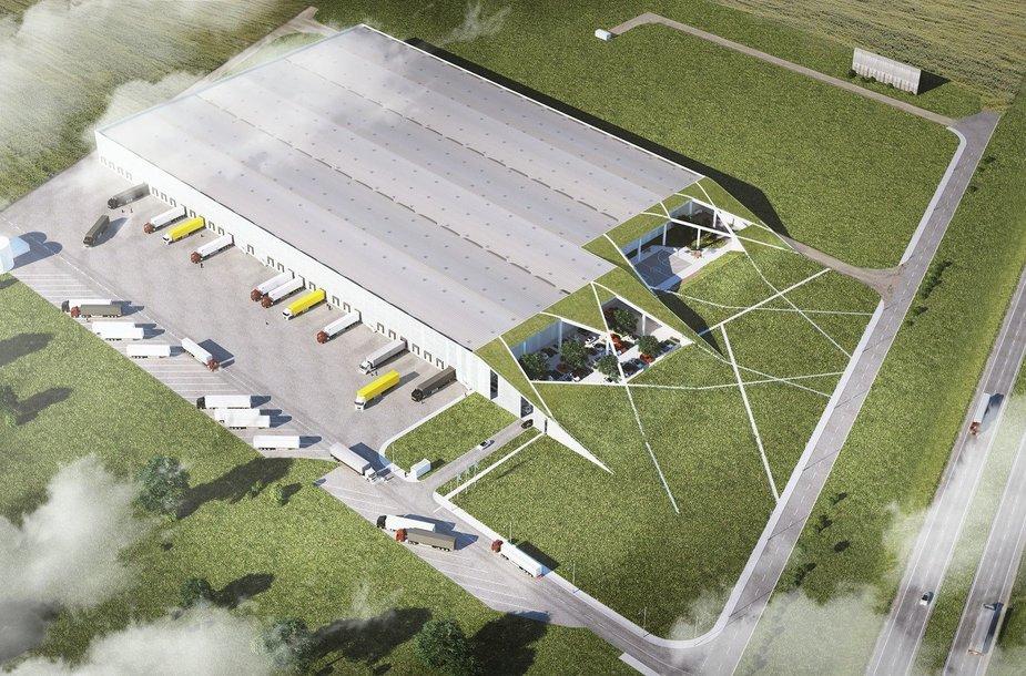 SBA logistikos centras