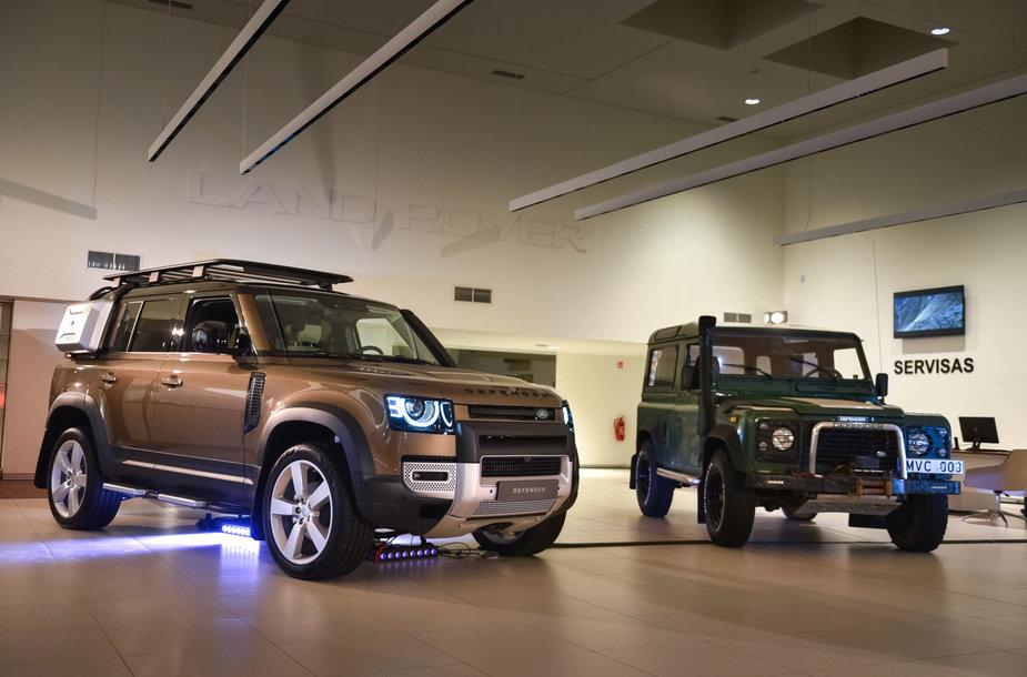 """Lietuvoje pristatytas naujasis """"Land Rover Defender"""""""