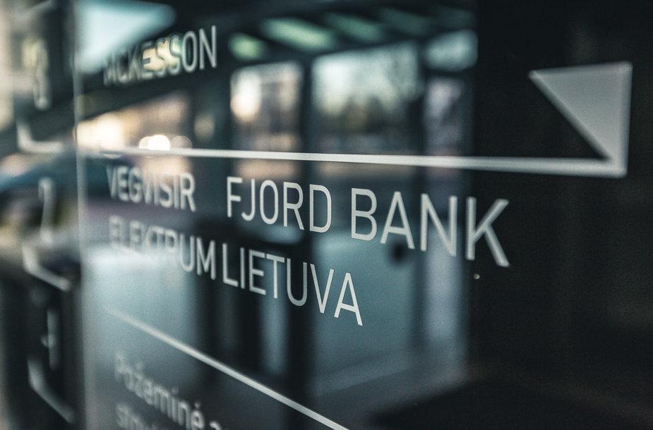 """""""Fjord Bank"""" naujasis biuras"""