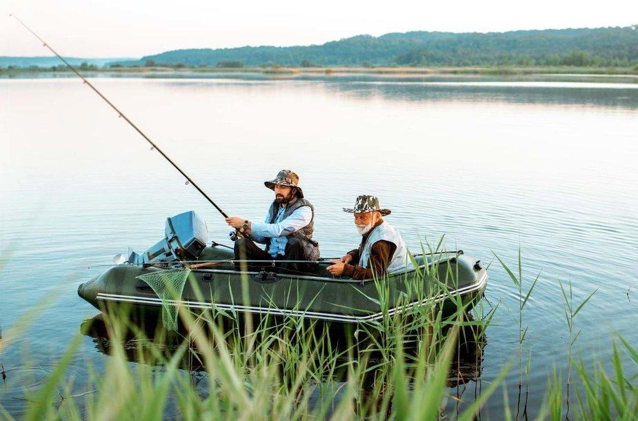 Kad žūklė būtų lengvesnė: išmaniosios programėlės rezultatyviai žvejybai