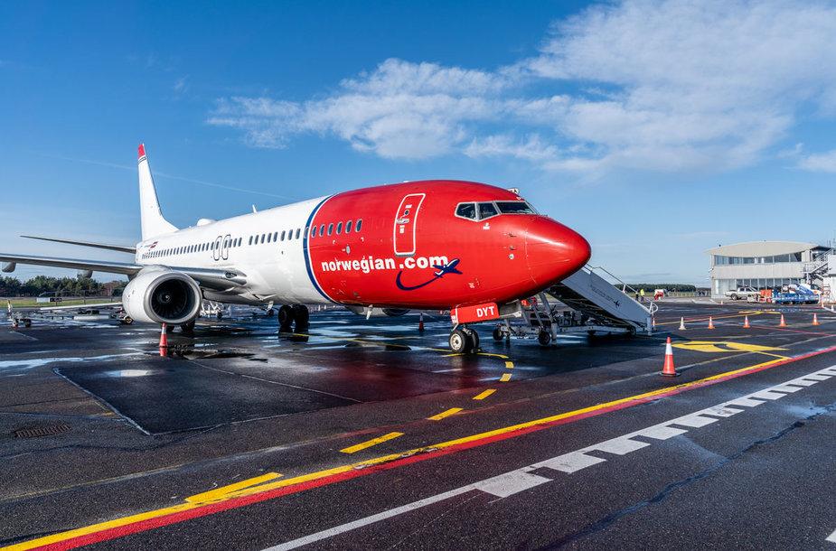 Palanga-Bergen flight