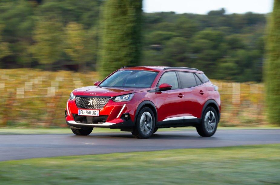 """""""Auto Bild"""" testo nugalėtojas """"Peugeot 2008"""""""
