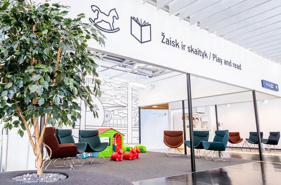 Nauja erdvė Vilniaus oro uoste