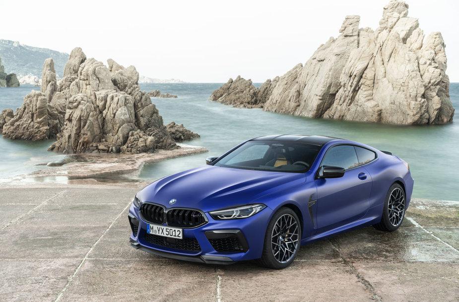 Pristatyti sportiškiausi BMW automobiliai