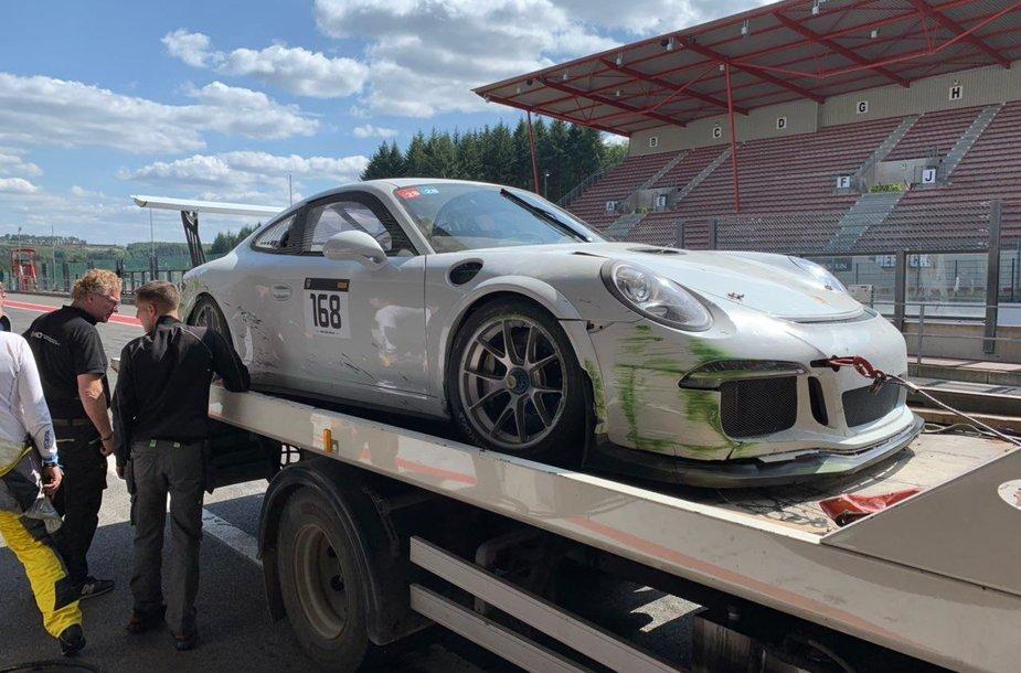 "Sudaužytas ""Porsche"""