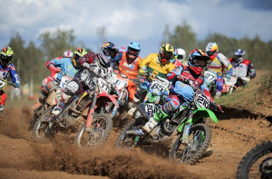 Lietuvos motociklų kroso čempionato etapas Utenoje