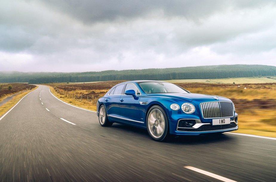 """Bentley"" atnaujino ""Flying B"" ženklelį"