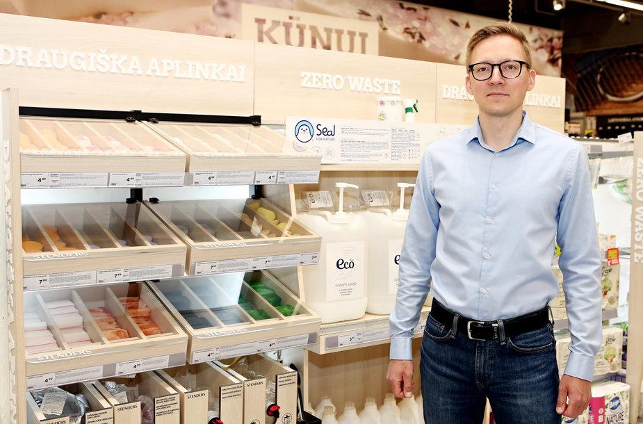 """Liudvikas Aleliūnas, """"Rimi Baltic"""" Socialinės atsakomybės strategijos ir vystymo vadovas"""