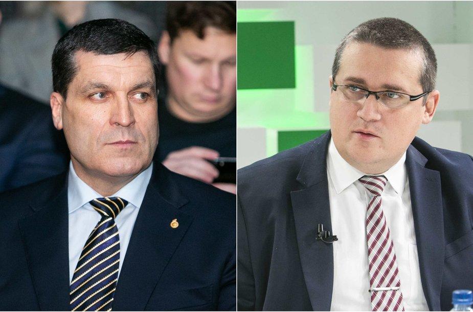 Arūnas Pukelis ir Skirmantas Malinauskas