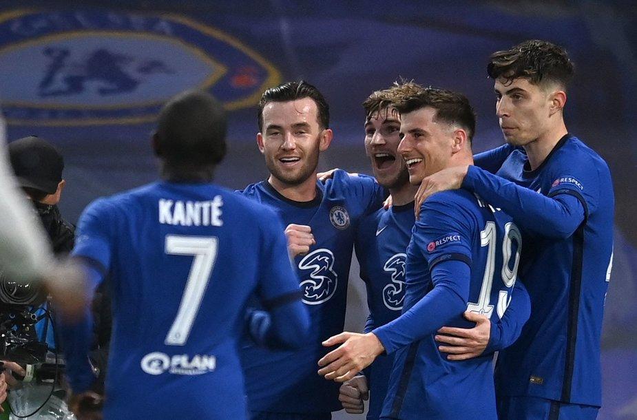 "UEFA Čempionų lygos pusfinalis: ""Chelsea"" – ""Real"""