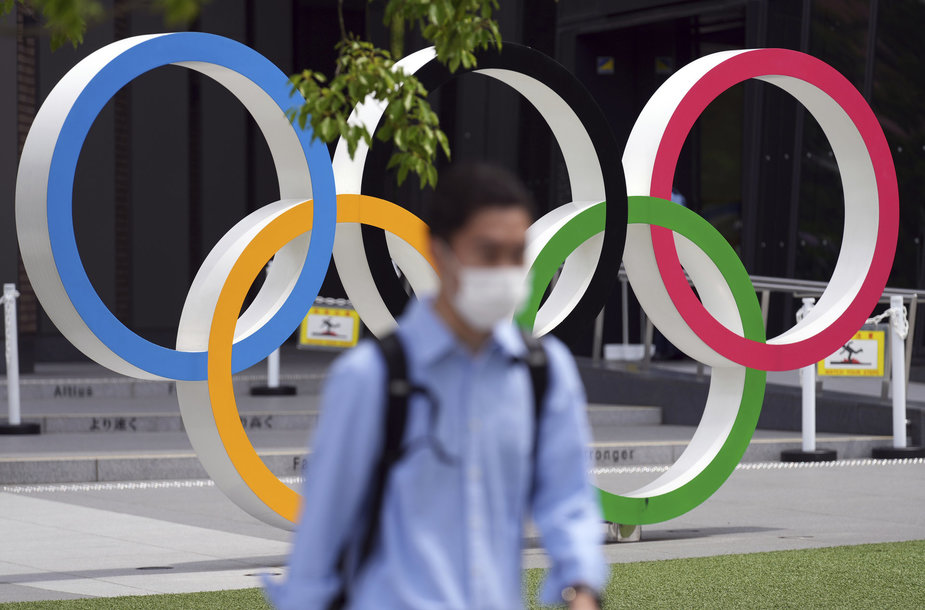 Palaikymas olimpinėms žaidynės Japonijoje auga