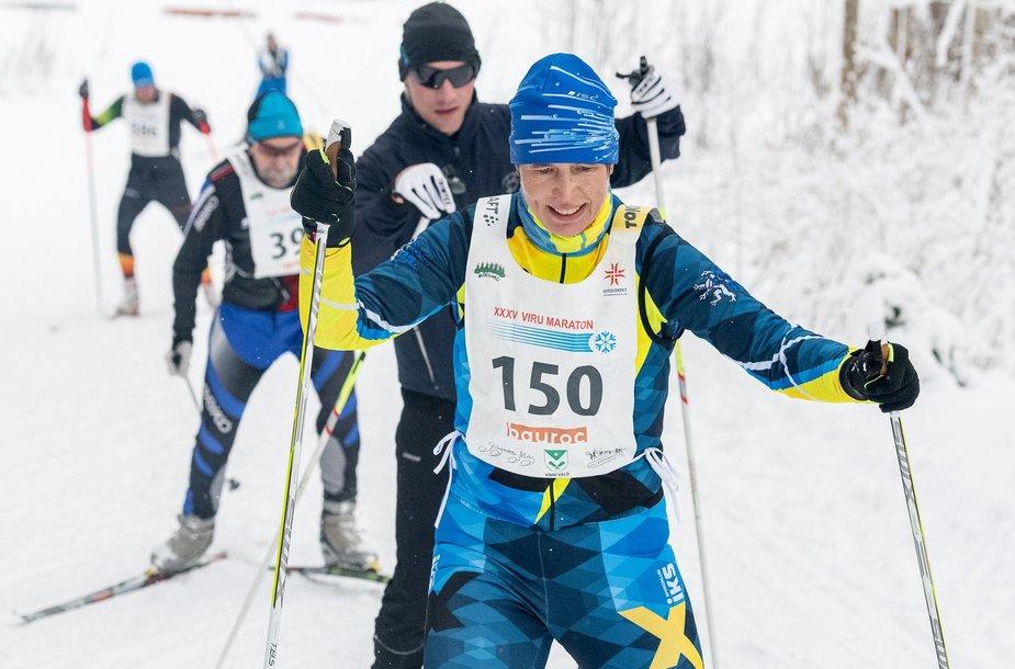 Kresti Kaljulaid Viru maratone sausį