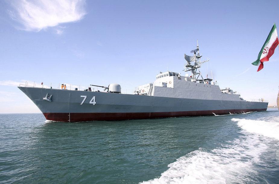 """Iraniečių karo laivas """"Sahand"""""""