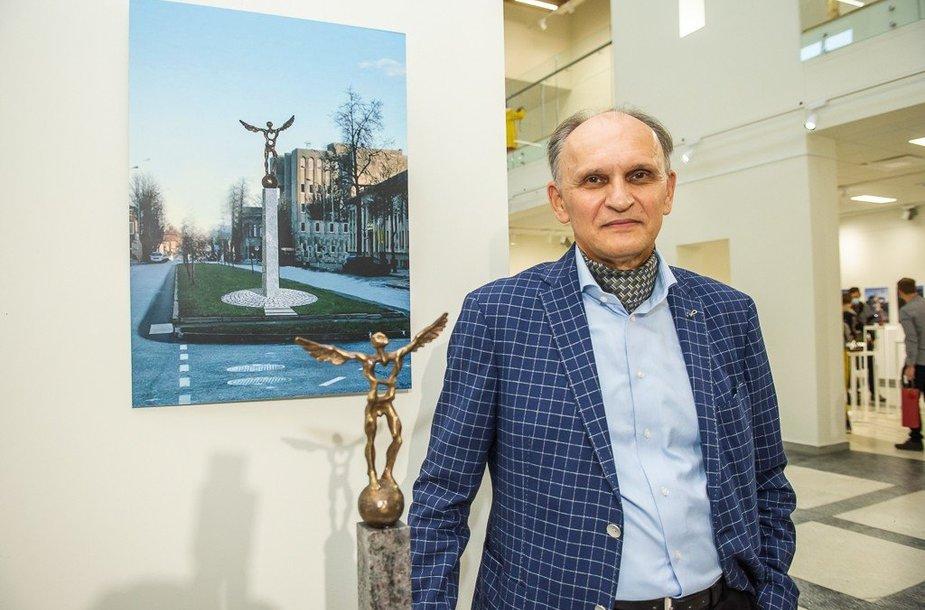 Vytauto Tallat-Kelpšos personalinės retrospektyvinės parodos atidarymas