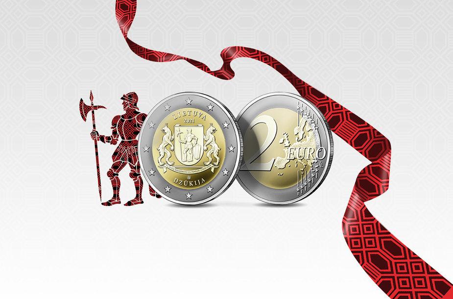 Dzūkijai skirta moneta