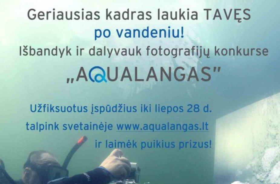 Fotokonkursas Aqualangas