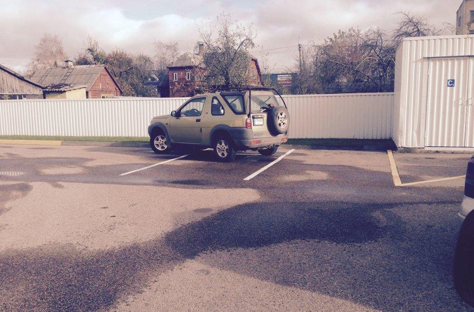 Parkavimo įpatumai