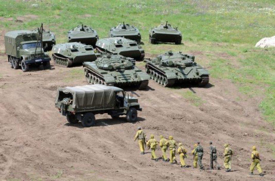 Armėnijos kariai Azerbaidžano pasienyje