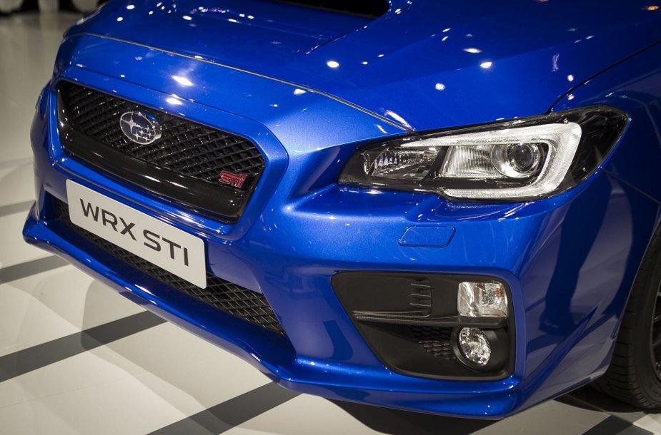 """""""Subaru STI"""": sportiškiausias sedanas Ženevoje"""