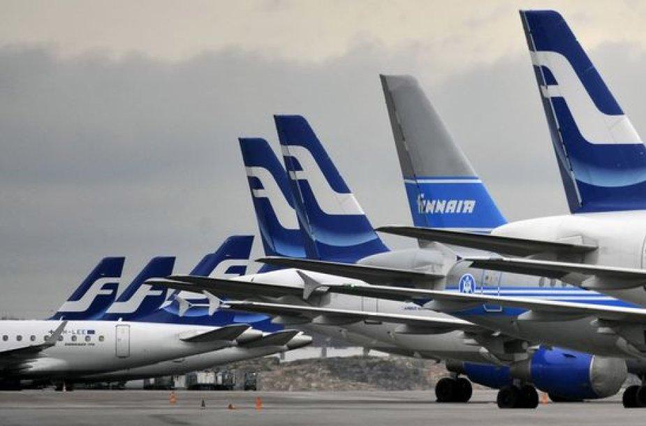"""""""Finnair"""" lėktuvai"""