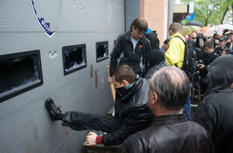 Prorusiški diversantai Odesoje