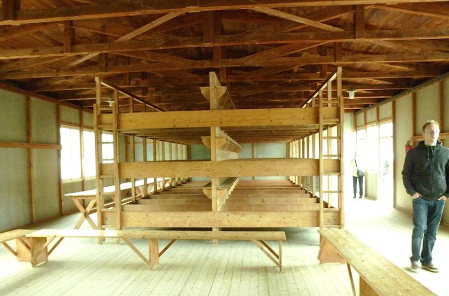 Buvusioje Dachau koncentracijos stovykloje