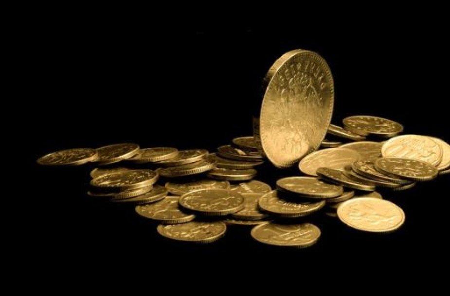 Auksinės monetos
