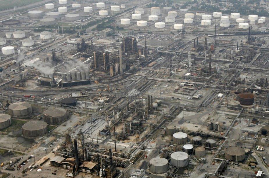 Naftos perdirbimo gamykla